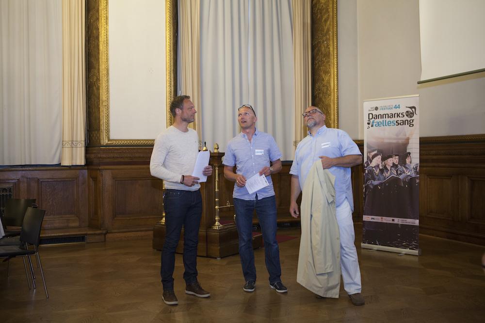 Carl Christian Ebbesen, Ricco Victor og Ole Dreyer