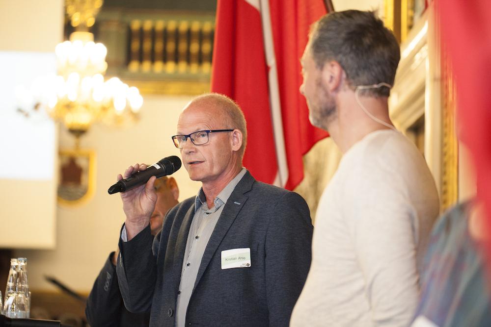 Kristian Ahle, formand Kalundborg Kommune Byråd