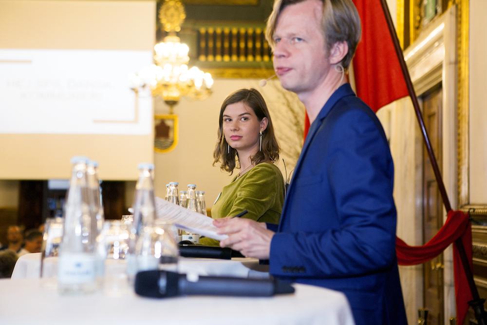 Lyra Lauge og Clement Kjersgaard