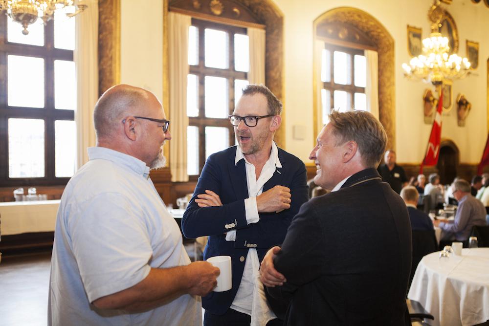 Ole Dreyer, Jørgen Thorup og John Kristensen