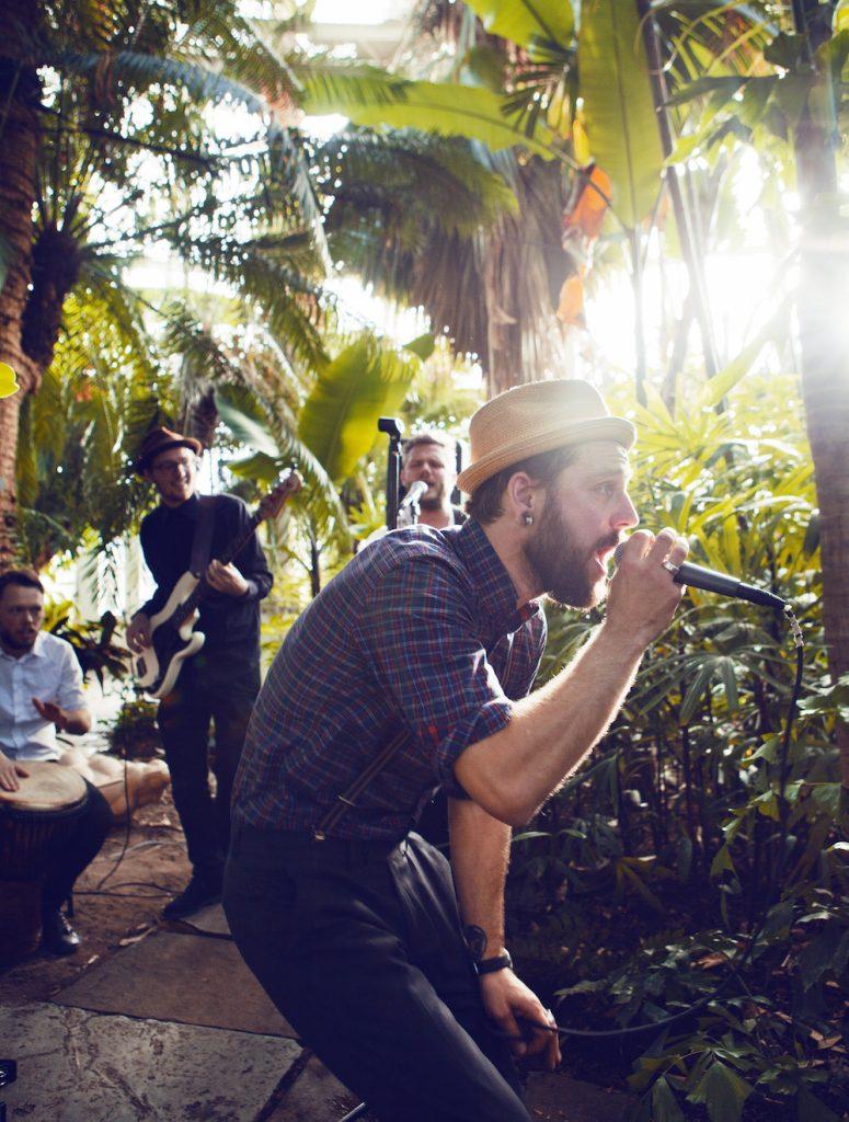 Babylove And The Van Dangos i Botanisk Have