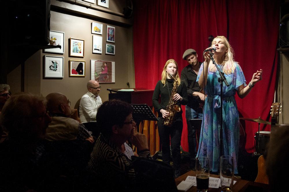 Malene Mortensen til Jazzcup
