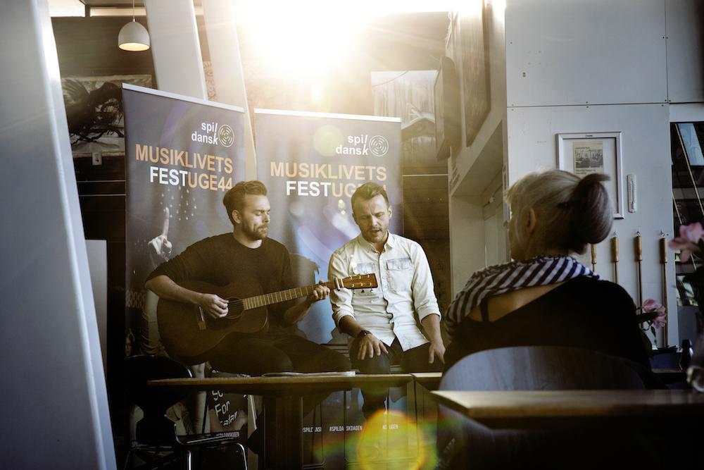 Bryan Rice og Christoffer Stjerne på Kulturhuset Islands Brygge