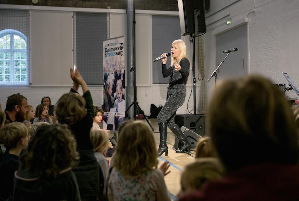 Christina Boelskifte i Keddelhallen