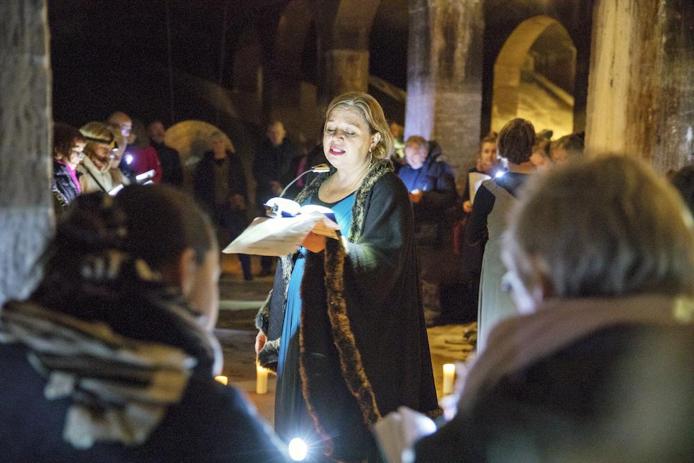 Syng i Cisternerne, fællessang under jorden