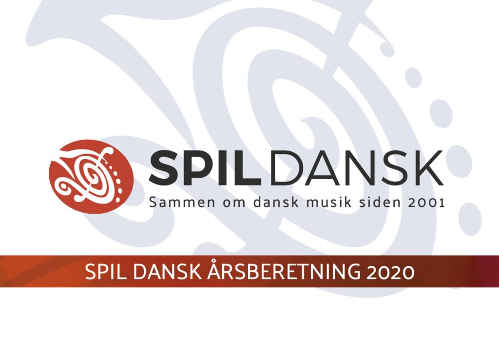 Spil Dansk Aarsberetning 2020 forside