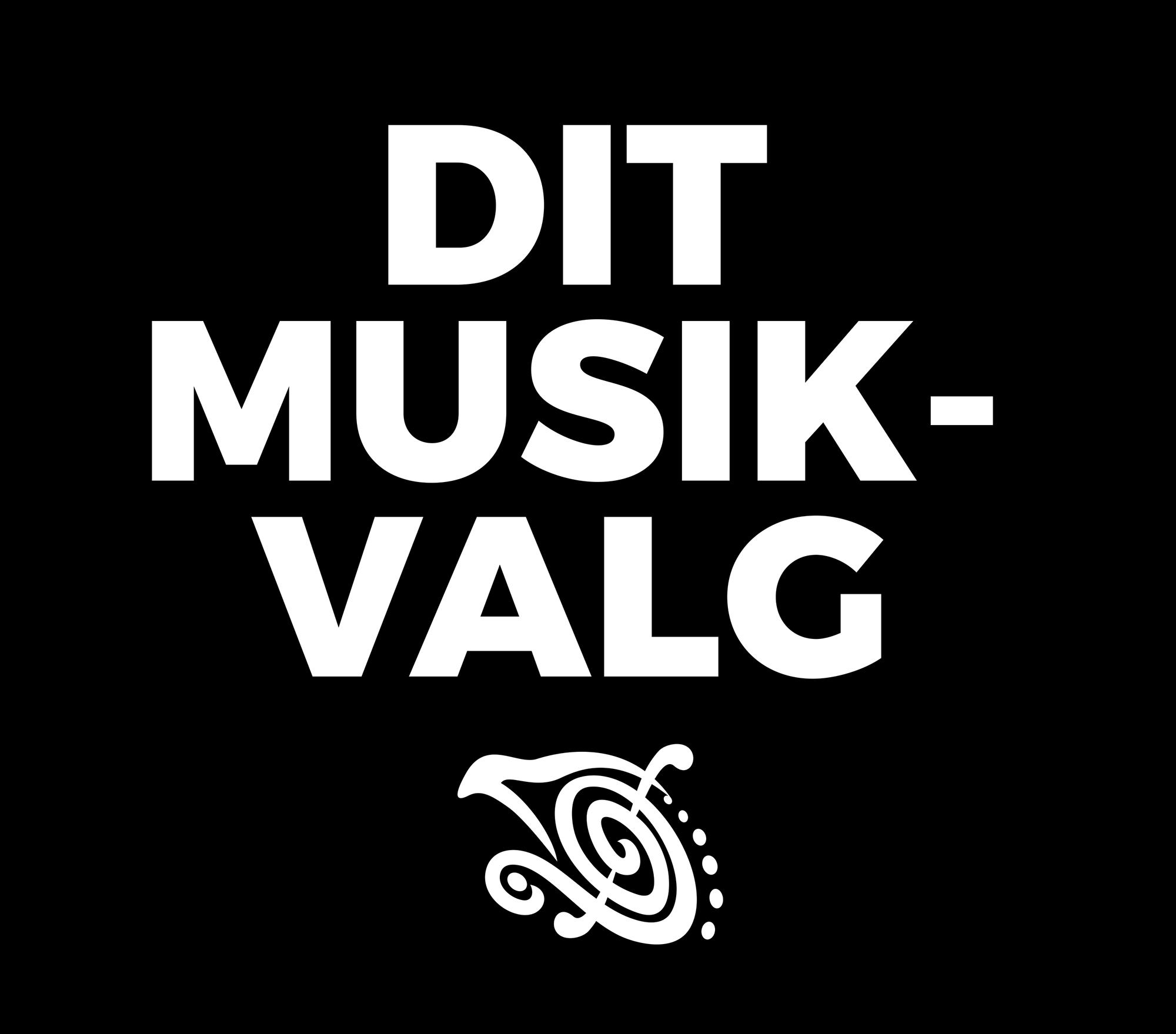 SPIL DANSK UGEN 2021 Dit musikvalg sort